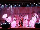 """建校二十周年校庆晚会上,学院艺术团+动漫社演绎精彩节目""""礼仪之邦"""""""